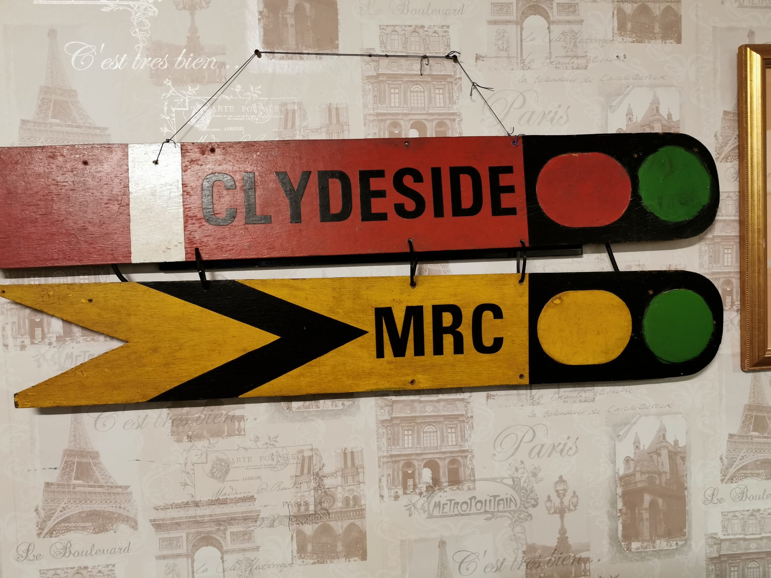 Clydeside Model Railway logo