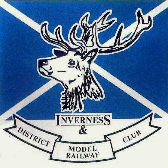 Showing logo of inverness model railway club