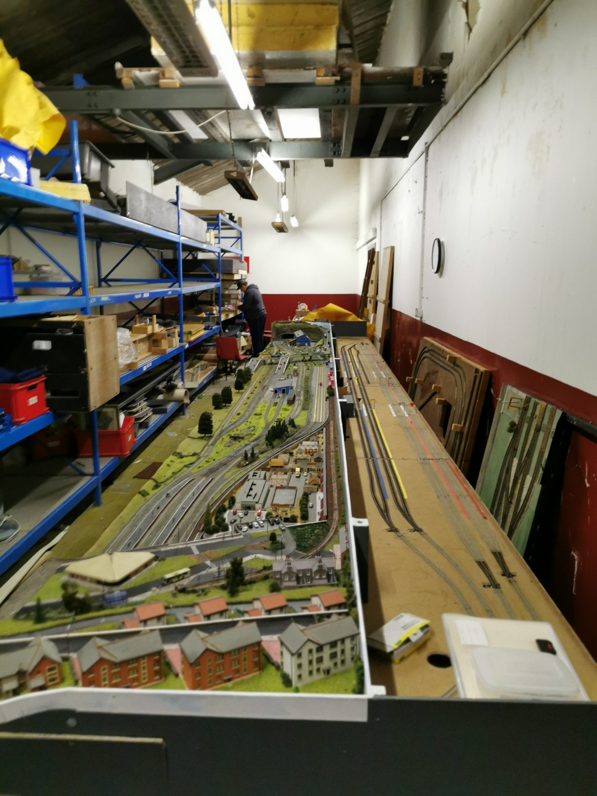 Full size picture of Glenrothes model railway club layout in N scale