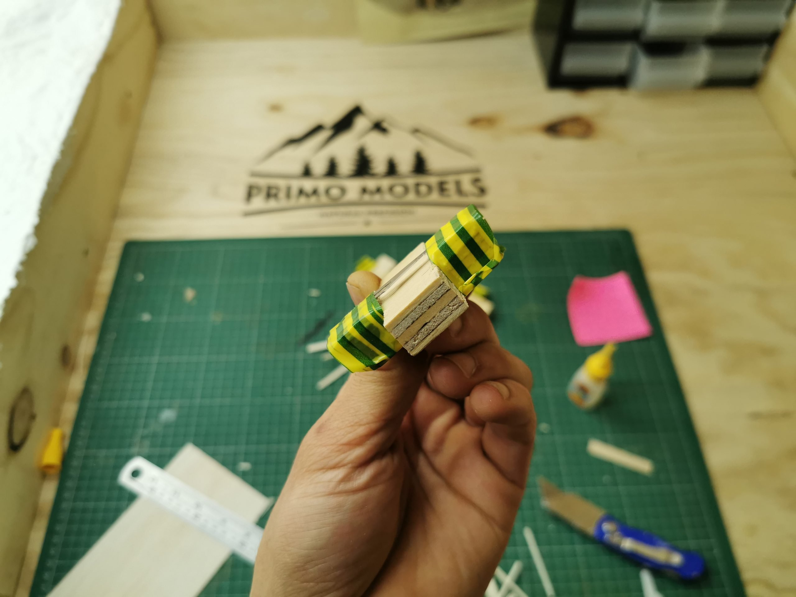Ready to use Primo Models plank maker.